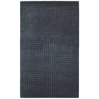 Couristan Matrix Abyss/ Plum Rug (9' x 12')