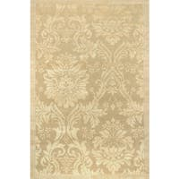 Couristan Impressions Antique Damask/ Gold-Ivory Rug - 9' x 12'