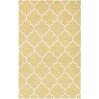Couristan Bowery Chauncey/ Gold-Ivory Rug (9'5 x 13'4)