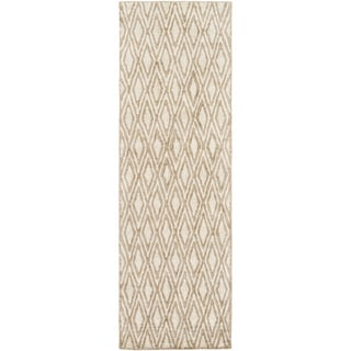 Hand-woven Gosport Geometric Rug (2'6 x 10')