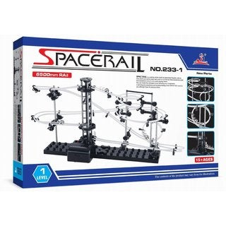 Spacerail Level 1 6500mm Steel Marble Roller Coaster Toy