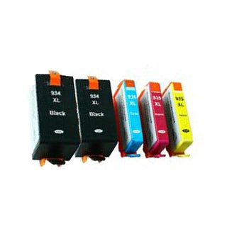 934XL B 935XL C Y M Compatible Inkjet Cartridge For 6812 6815 6230 6830 6835 (Pack of 5)