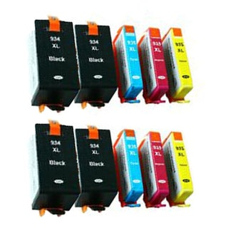 934XL B 935XL C Y M Compatible Inkjet Cartridge For 6812 6815 6230 6830 6835 (Pack of 10)