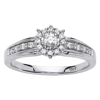 10k Gold 1/4ct TDW Round Diamond Promise Ring (H-I, I2-I3)
