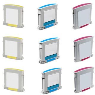 940XL Cyan Yellow Magenta Compatible Inkjet Cartridge For HP OfficeJet Pro 8000 OfficeJet Pro 8500 (Pack of 9)