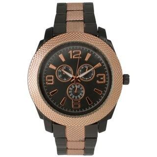 Olivia Pratt Women's Sleek Metal Decorative Chronograph Watch