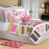 Kendall Patchwork Reversible Quilt