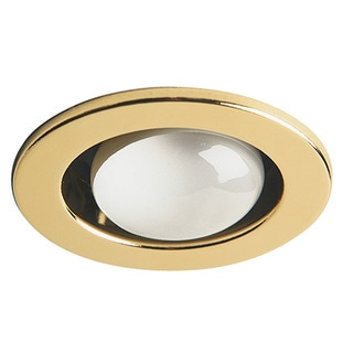 Dainolite Polished Brass Trim Only Open Type Use with DL4000 Housing