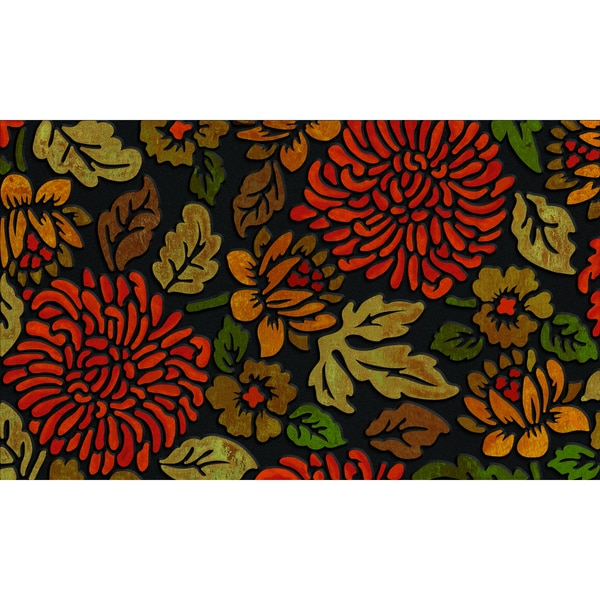 Outdoor November Bloom Doormat (18 x 30)