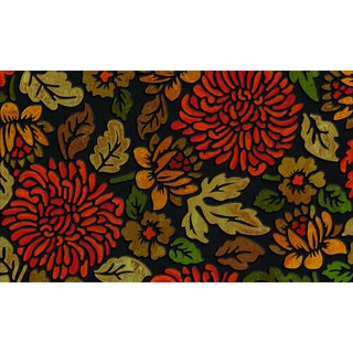 "Outdoor November Bloom Doormat (18"" x 30"")"