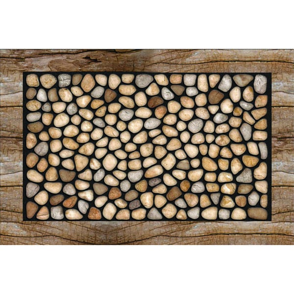 Outdoor Stone Garden Doormat (18 x 30)