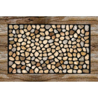 "Outdoor Stone Garden Doormat (18"" x 30"")"