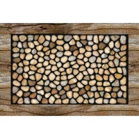 Outdoor Stone Garden Doormat (18 x 30)