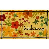 """Outdoor Wild Flower Doormat (18"""" x 30"""")"""