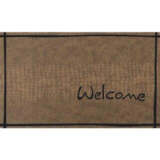 """Outdoor Croc Welcome Doormat (18"""" x 30"""")"""