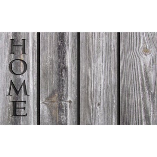 "Outdoor Home Wood Doormat (18"" x 30"")"
