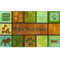 "Outdoor Woof Woof Doormat (18"" x 30"")"