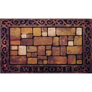 Outdoor Aberdeen Welcome Doormat (18 x 30)|https://ak1.ostkcdn.com/images/products/10425225/P17523996.jpg?impolicy=medium