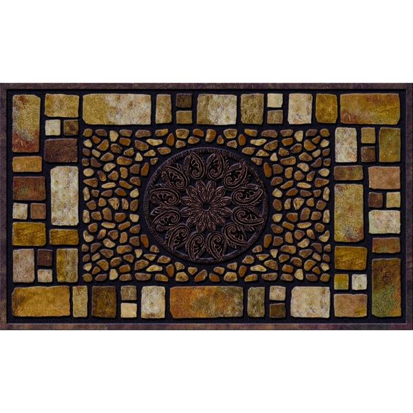 Shop Outdoor Notre Dame Earthstone Doormat 18 X 30
