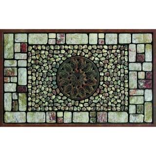 """Outdoor Notre Dame Greystone Doormat (18"""" x 30"""")"""