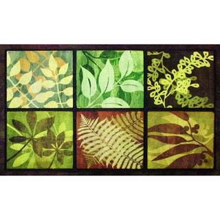 """Outdoor Leaves Doormat (22"""" x 36"""")"""