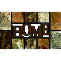 """Outdoor Home Slate Brown Doormat (18"""" x 30"""")"""
