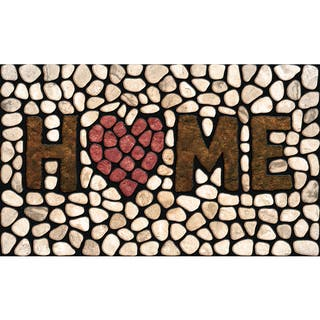 "Outdoor Home Stones Doormat (18"" x 30"")|https://ak1.ostkcdn.com/images/products/10425238/P17524008.jpg?impolicy=medium"