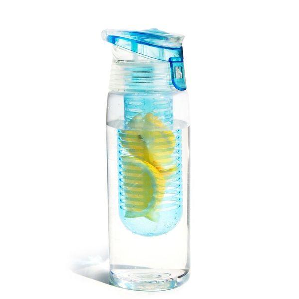 Asobu Flavour it 2 Go - Fruit Infuser Bottle - 20oz - BPA free (One Bottle)