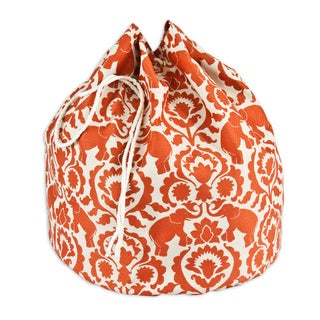 Babar Spice 20-inch Round Laundry Bag with Grommets