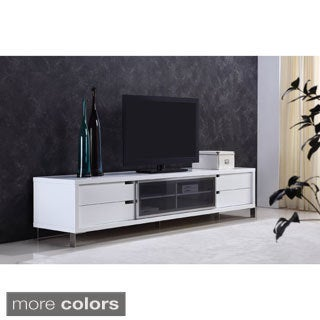 Roma Remix Infrared Remote Compatible Grey Tv Stand