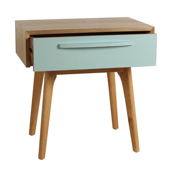 Elegant Porthos Home Maximilian Mid Century Side Table   Free Shipping Today    Overstock.com   17524222