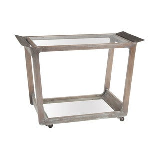 LS Dimond Home Thompson Bar Cart