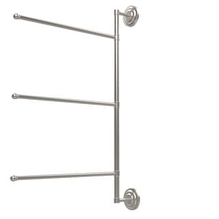 Allied Brass Prestige Que New Collection 3-swing Arm 28-inch Towel Bar