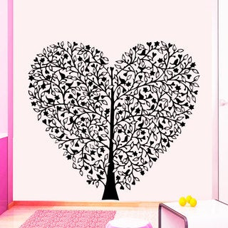 Heart Tree Vinyl Sticker Wall Art