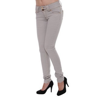 Sexy Couture Women's S90-PS Mid Rise Regular Skinny Stretch Jeans