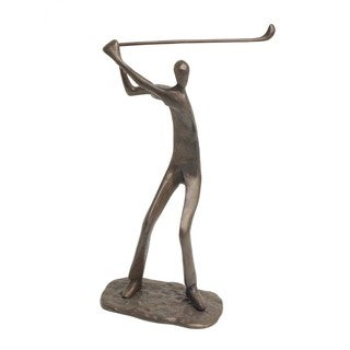 Danya B Male Golfer Bronze Sculpture