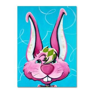 Sylvia Masek 'Dressy Bunny' Canvas Art