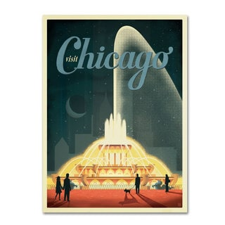 Anderson Design Group 'Chicago' Canvas Art