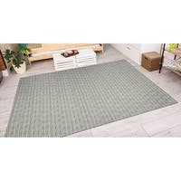 Vector Camden Blue-Silver Indoor/Outdoor Area Rug - 6'6 x 9'6