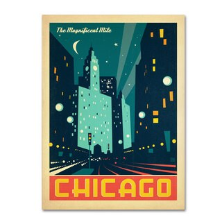 Anderson Design Group 'Chicago III' Canvas Art