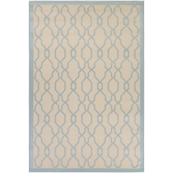 Shop Couristan Five Seasons Byron Bay/ Cream-blue Rug (6