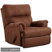 Exceptional Designs Microfiber Rocker Recliner