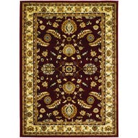 Couristan Anatolia Floral Heriz/ Red-cream Rug (9' x 13')
