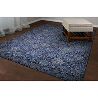 "Couristan Easton Winslet Navy-sapphire Area Rug - 9'2"" x 12'5"""