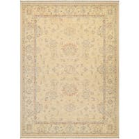 Couristan Elegance Alastair Tan-Multi Wool Rug (9'10 x 12'11)