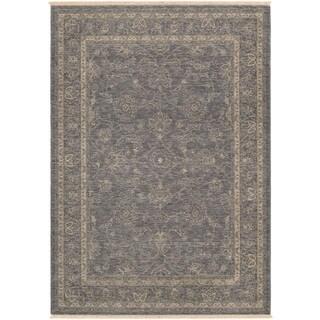 Couristan Elegance Aurelia/ Dusty Blue-beige Rug (9' x 12')