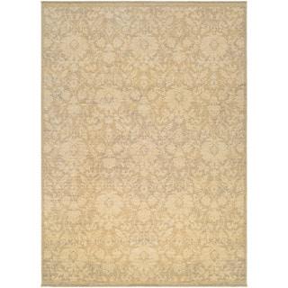 Couristan Elegance Lorelei/ Tan-ivory-Mauve Rug (9' x 12')