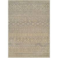 Couristan Elegance Ophelia Mauve-tan Wool Rug - 9'10 x 12'11