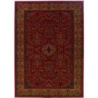 "Couristan Everest Ardebil Crimson Area Rug - 9'2"" x 12'5"""