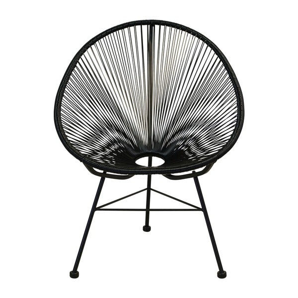 Handmade Acapulco Woven Indoor/ Outdoor Lounge Chair (China)